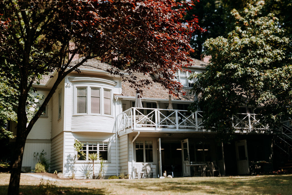 Gower House intimate Victoria BC wedding photographer