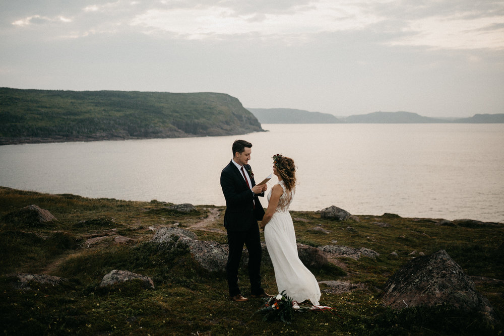 Canadian Elopement Photographer - Newfoundland Cape Spear
