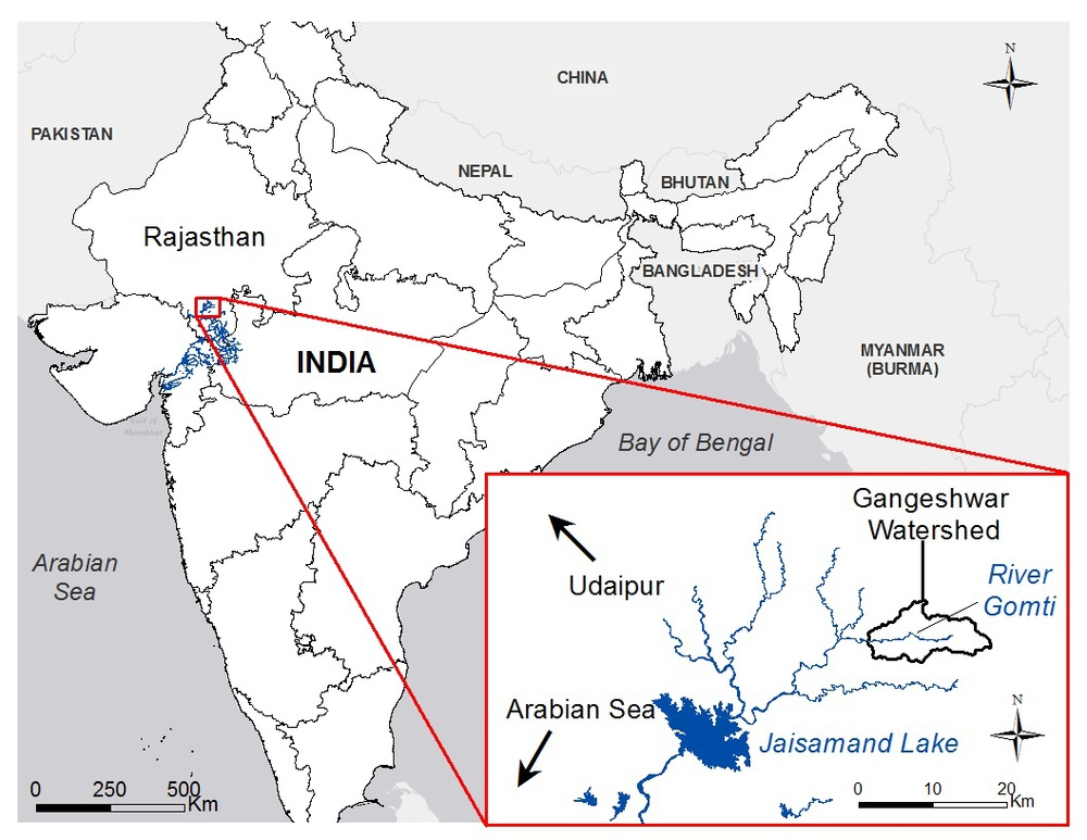Project Site: Gangeshwar Watershed, Rajasthan, India