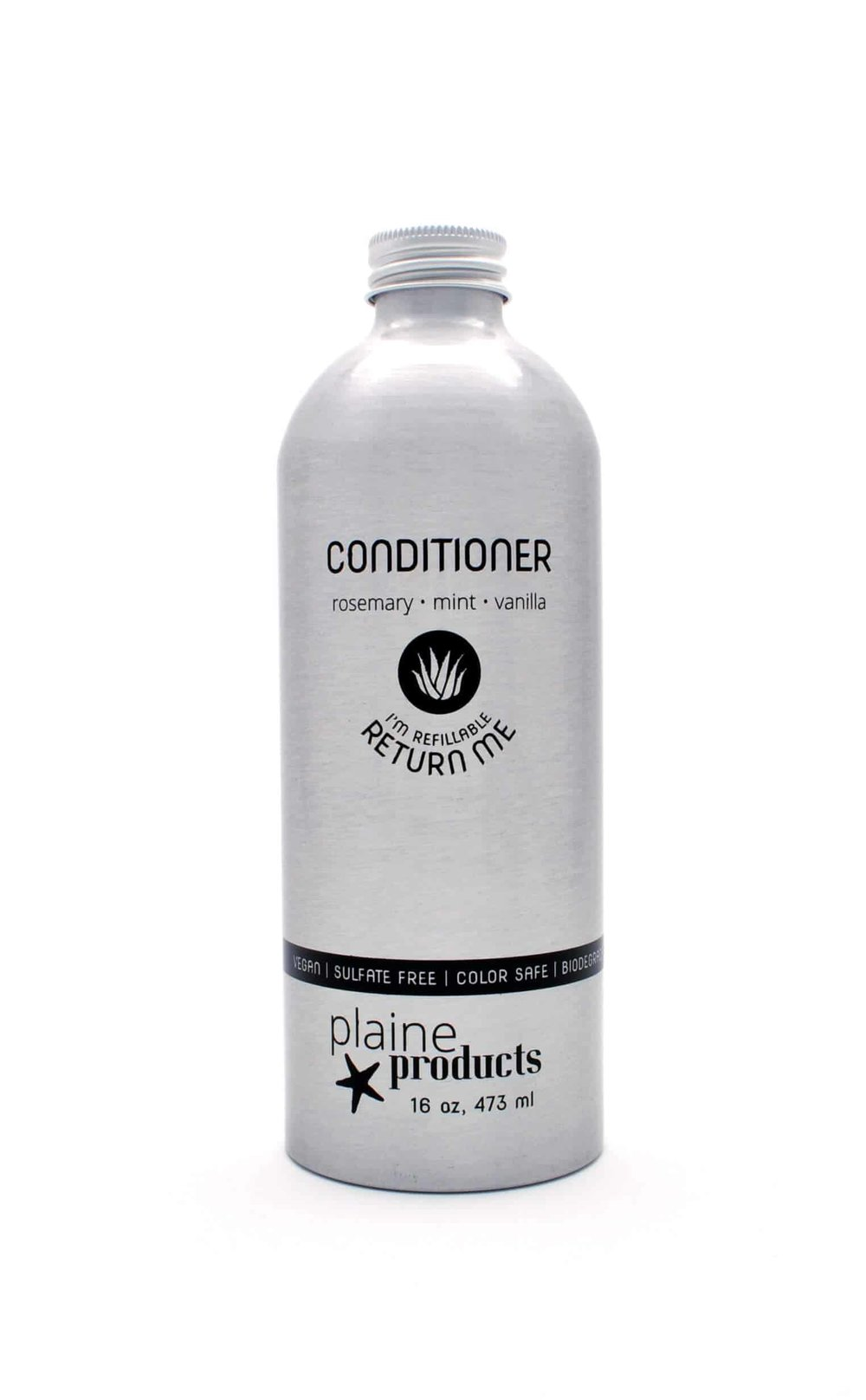 Conditioner.   Shop  Reusable and Refillable container. Make a one-time purchase and return to the shop when a refilled bottle is needed. Subscription program available.  Alternatively, you can  buy lotion in bulk  and use a shower dispenser at home for daily use.