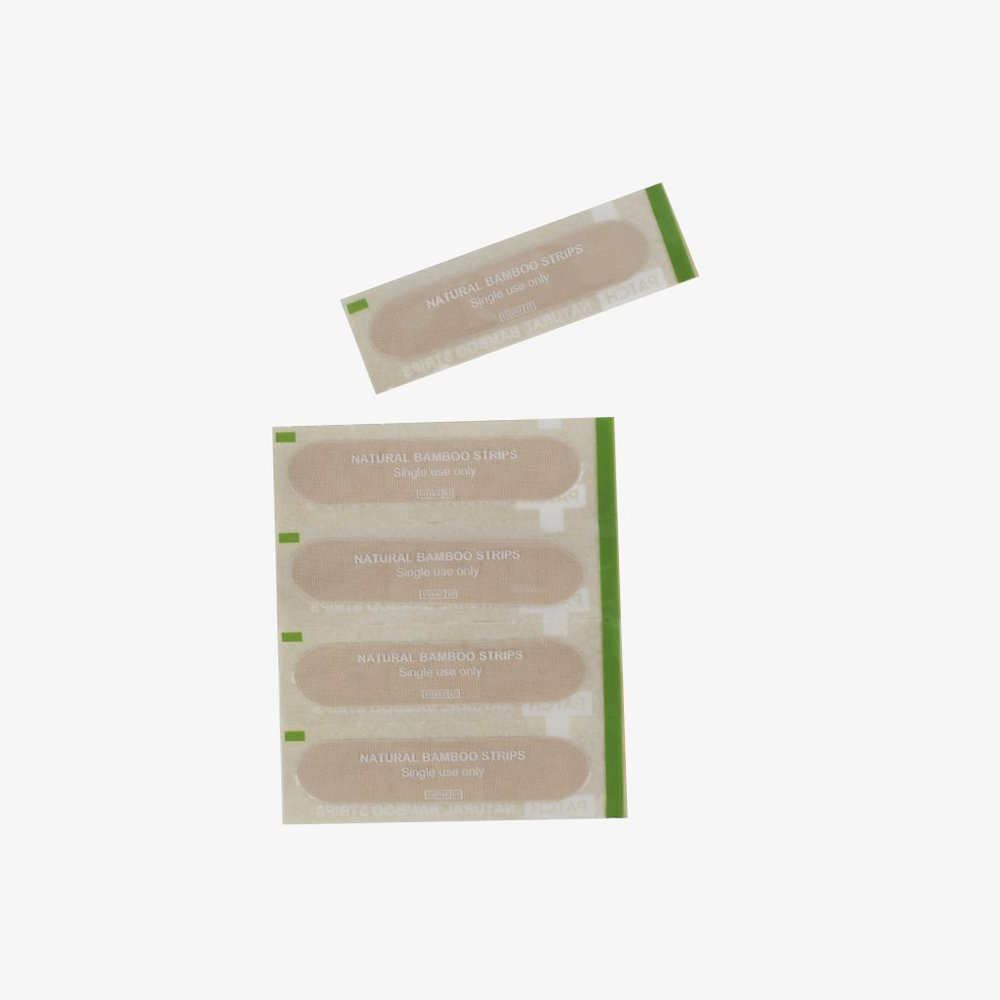 Bandaids .  Shop   These organic bamboo bandaids are 100% compostable (even the wrappers!).