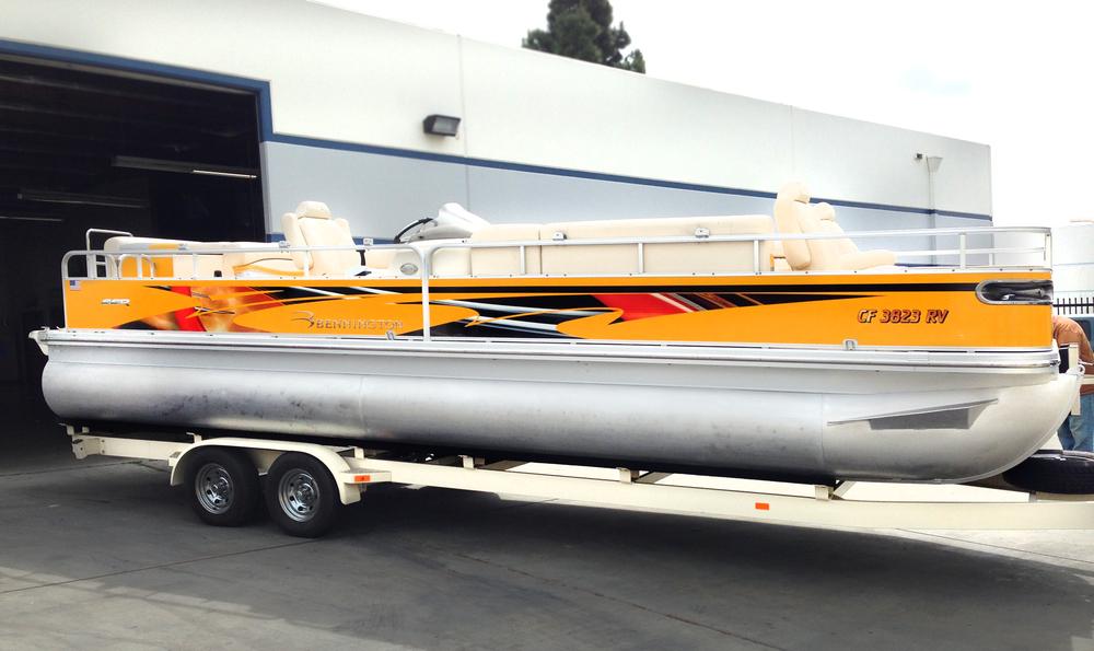 Graphics For Custom Pontoon Boat Graphics Wwwgraphicsbuzzcom - Custom pontoon decals