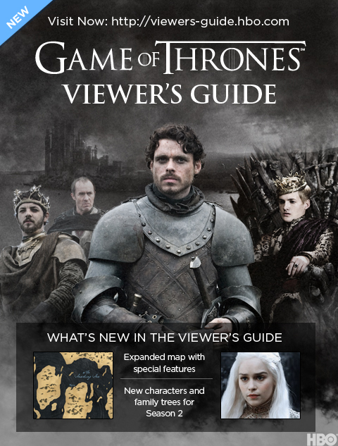 game of thrones viewer s guide updated for season 2 making game of rh makinggameofthrones com game of thrones viewers guide hbo game of thrones viewer's guide pdf
