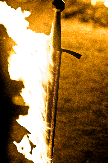Prop Closeup: Beric's Flaming Sword — Making Game of Thrones