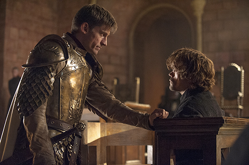Image result for tyrion and jaime