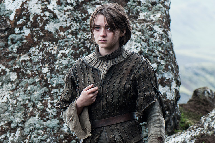 The actress behind Arya Stark remembers her brief moment of happiness    Arya Stark Season 4 Needle
