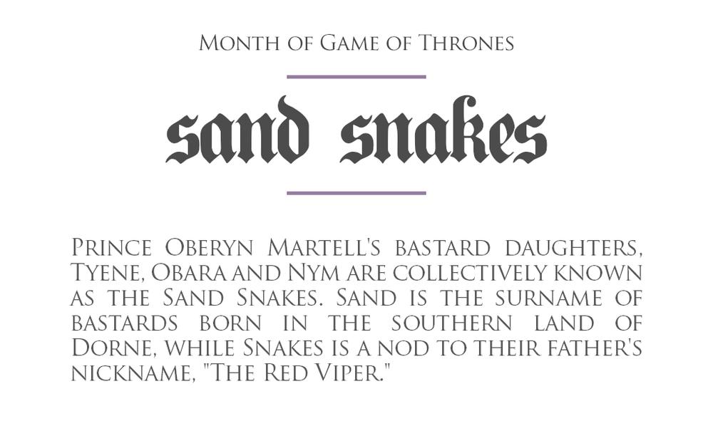Sand_Snakes_Dorne_Oberyn