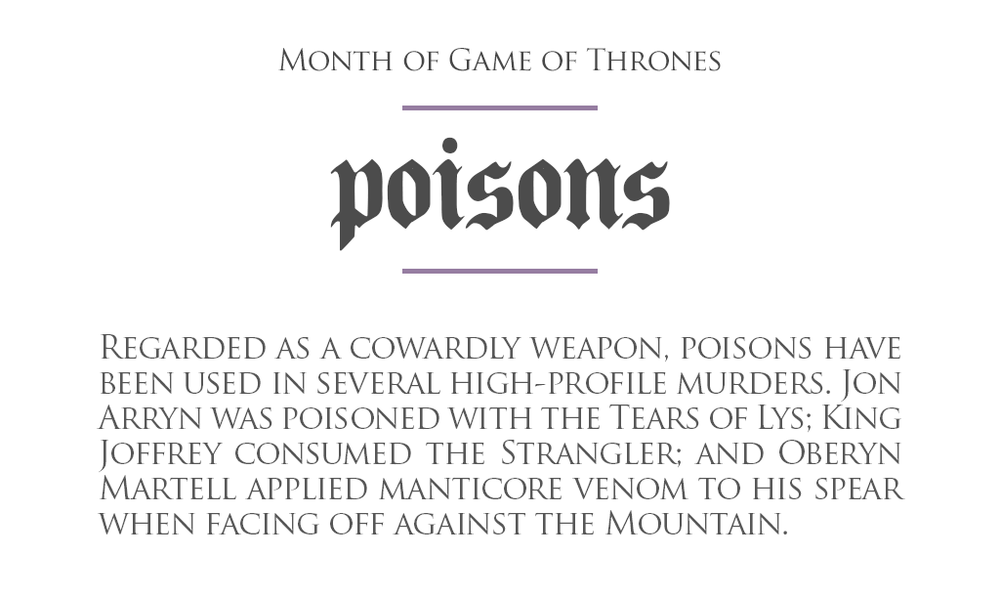 MonthOfGoT_23_Poisons.png