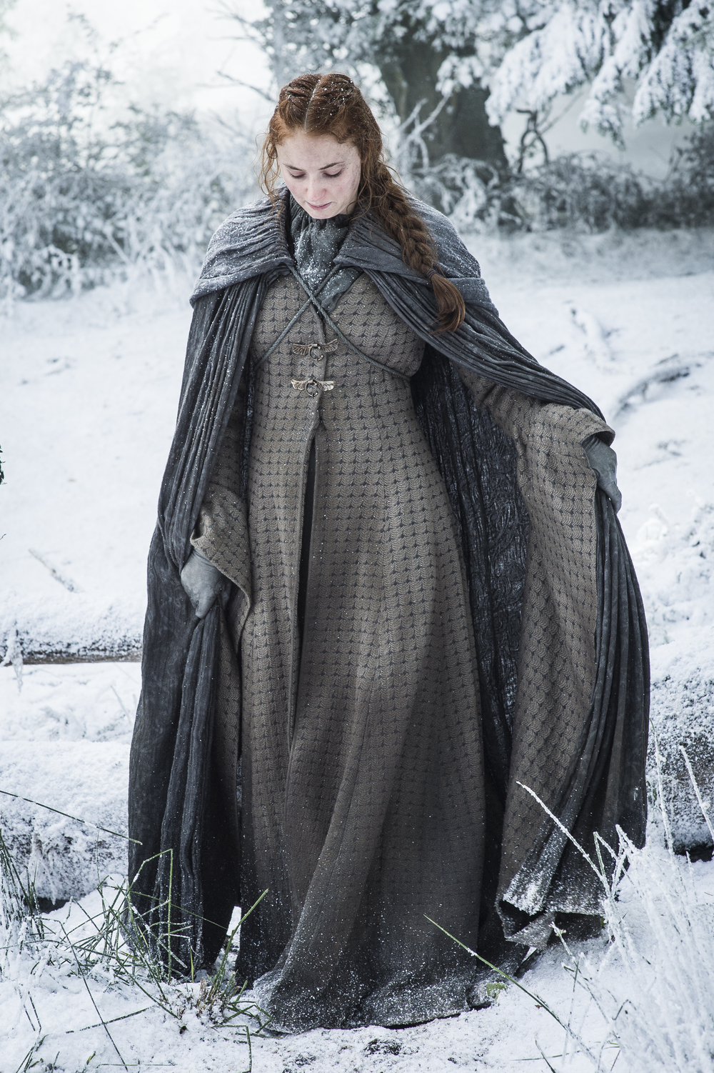 Galerry Arya Stark game of thrones season 7 episode 1 images