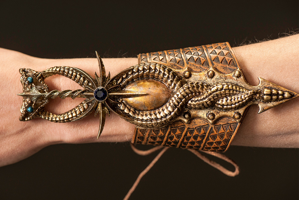 The wrist cuff Ellaria wears, which hides a secret dagger.