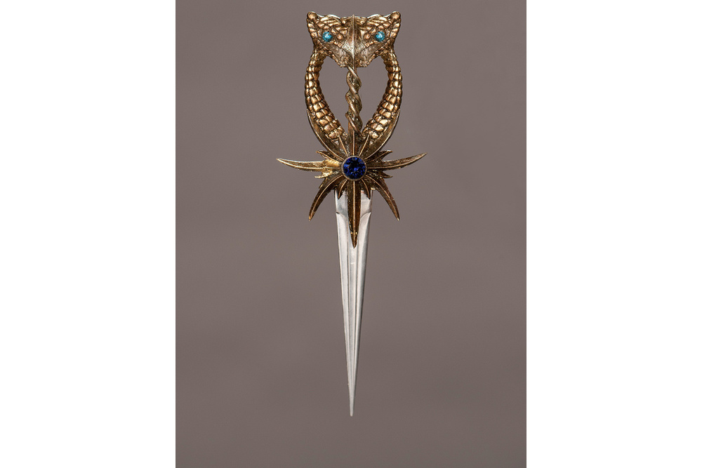 Ellaria's dagger, which she uses to murder Doran.