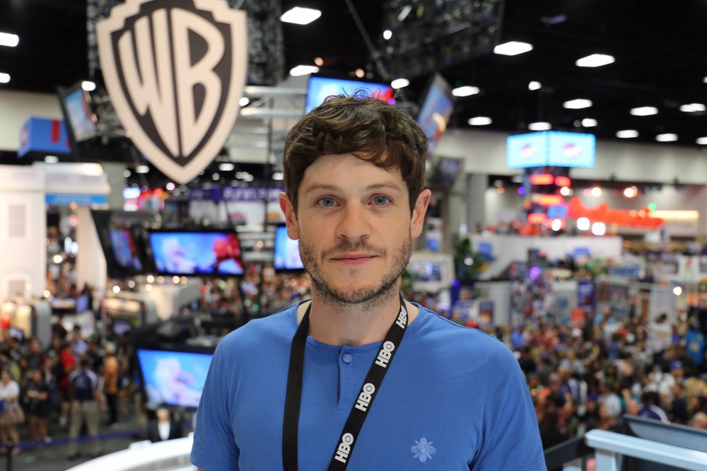 Iwan Rheon at SDCC.