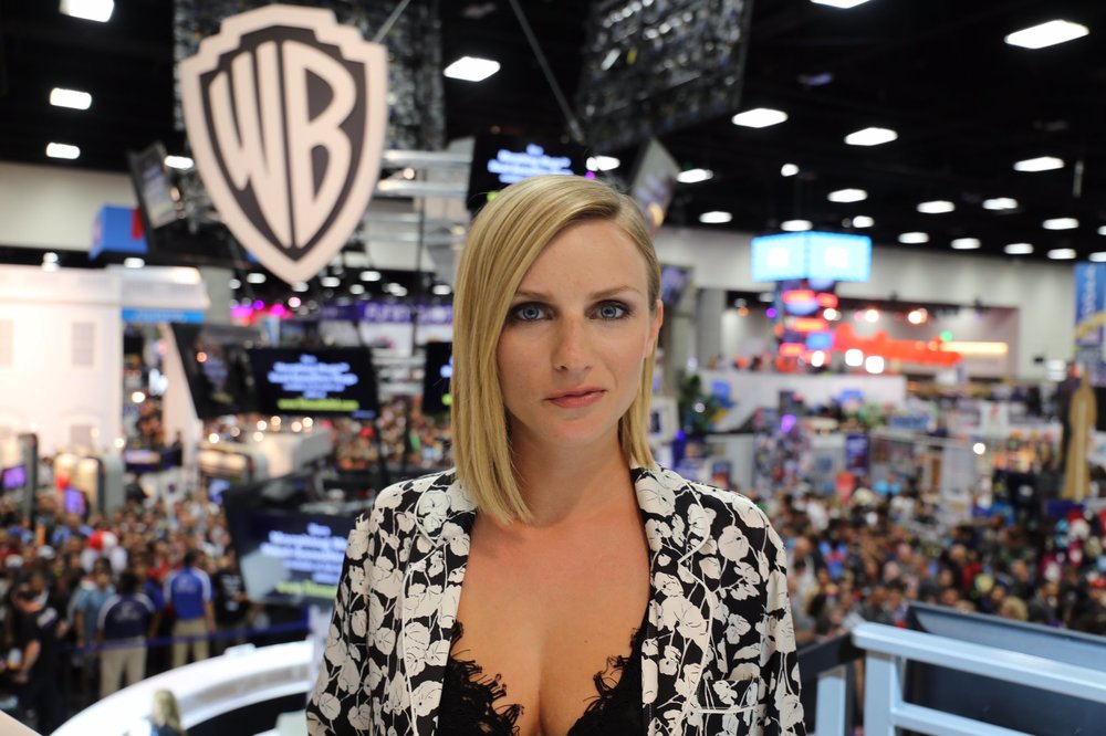 Faye Marsay at Comic-Con.