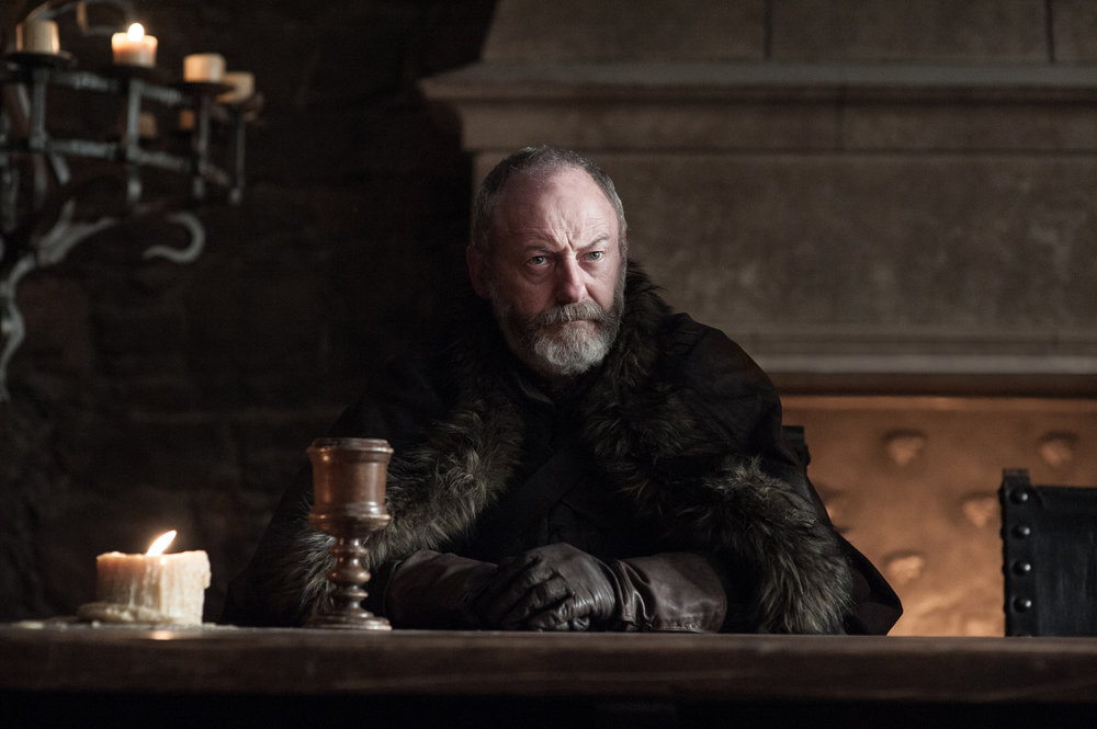 Liam Cunningham as Davos Seaworth - Photo: Helen Sloan/HBO