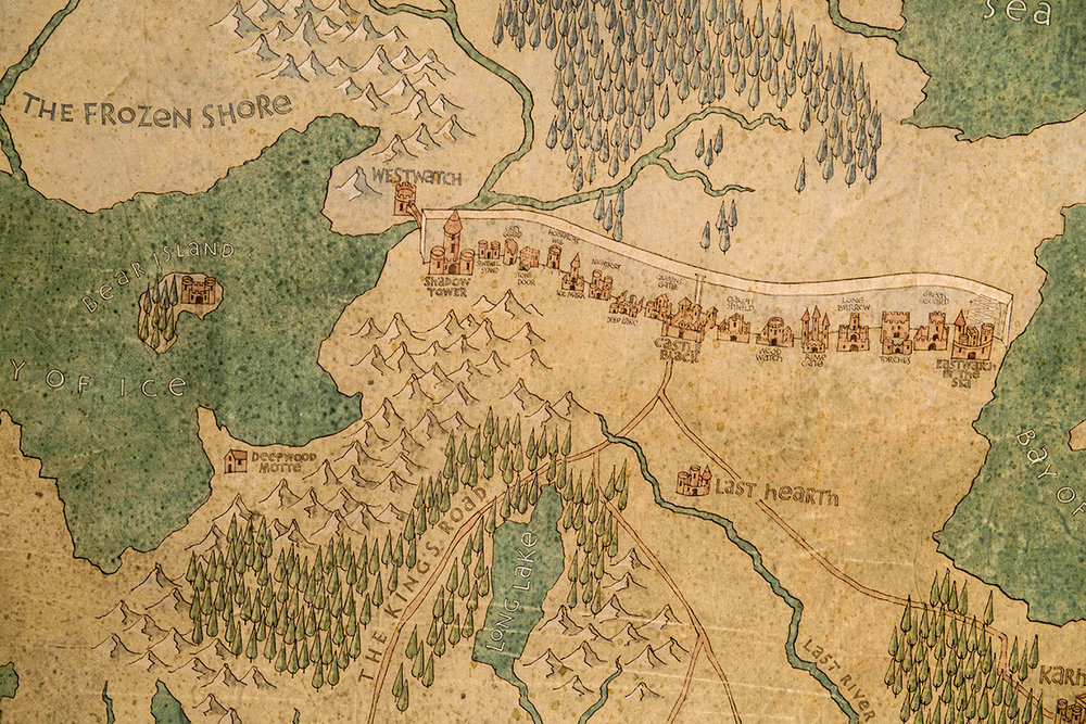 Map of the Far North