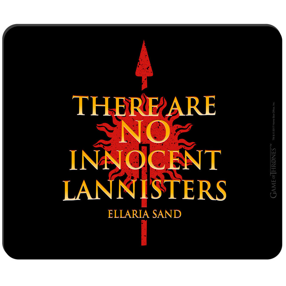 There Are No Innocent Lannister's Mousepad