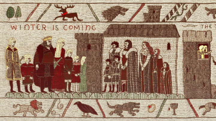 Northern Ireland Celebrates GoT With This Incredible Hand-Made Tapestry