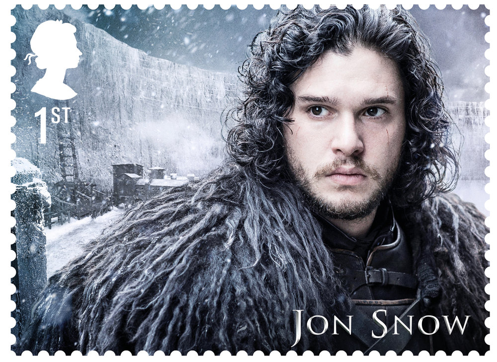 GoT Jon Snow stamp.jpg