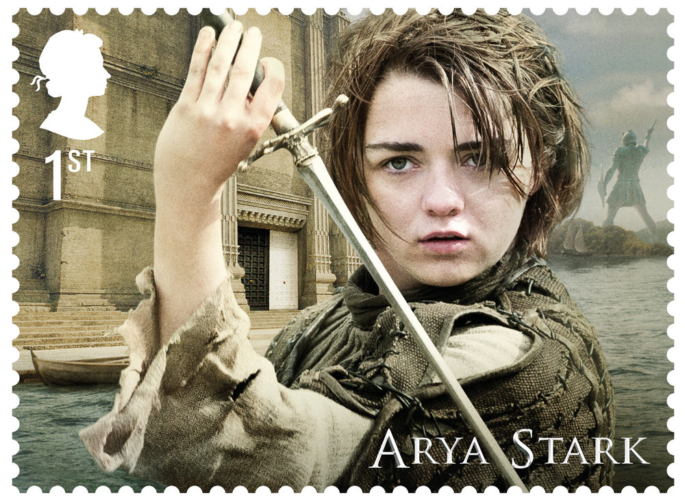 GoT Arya Stark stamp .jpg