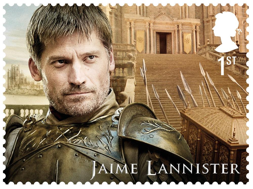 GoT Jamie Lannister stamp.jpg