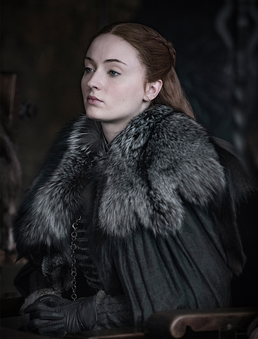 Sophie Turner as Sansa Stark – Photo: Helen Sloan/HBO