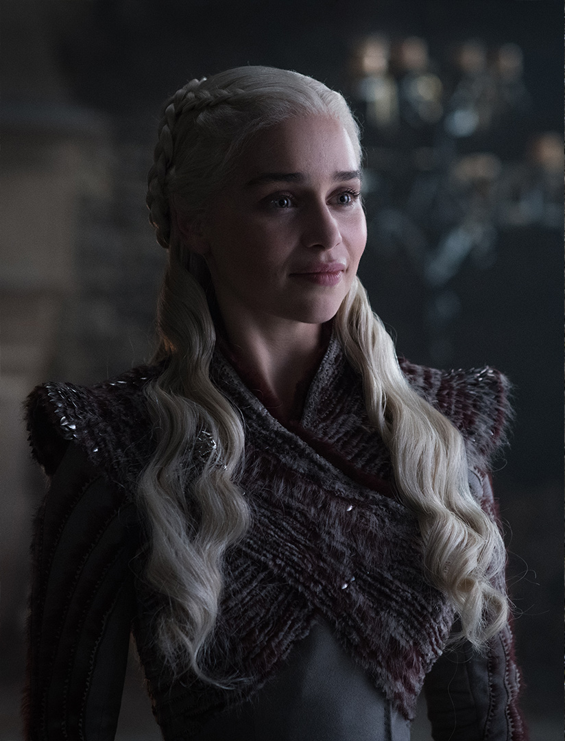 Emilia Clarke as Daenerys Targaryen – Photo: Helen Sloan/HBO