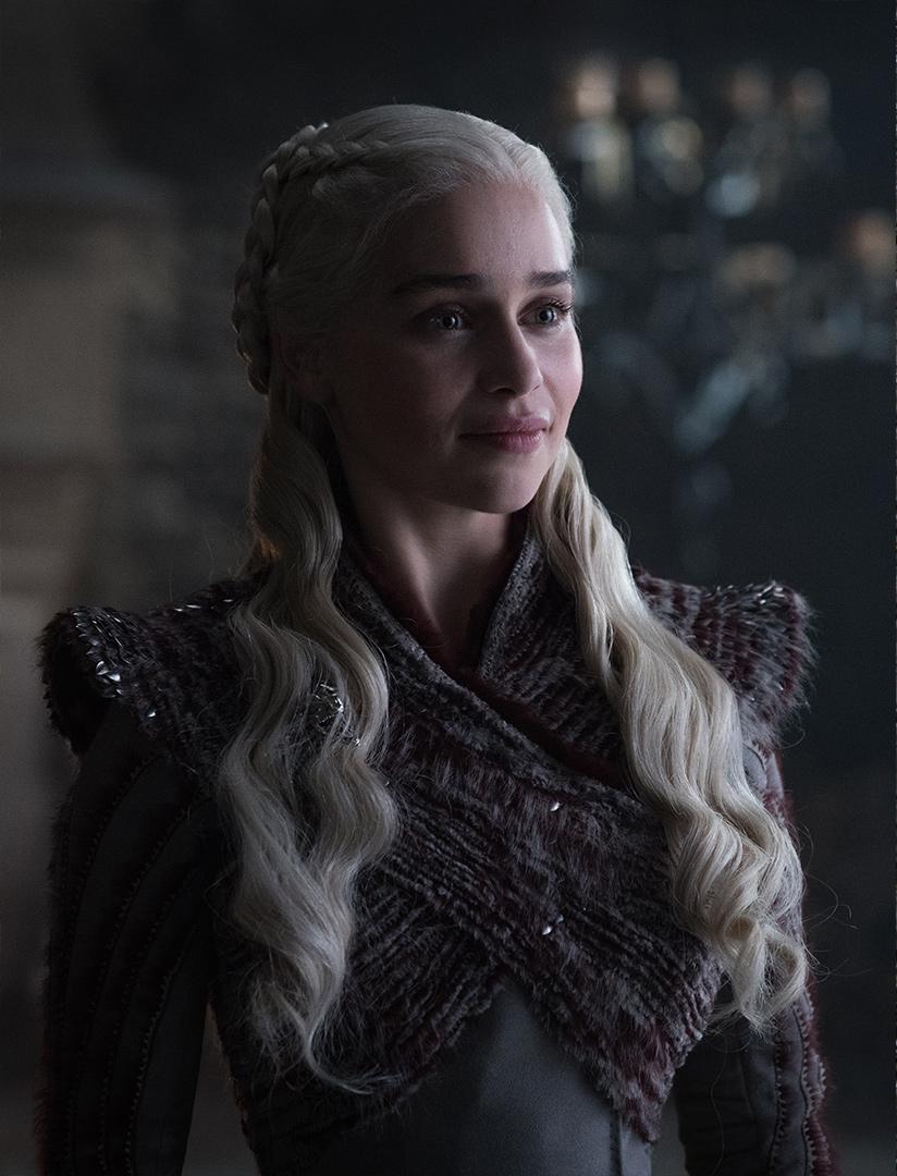 Emilia Clarke as Daenerys Targaryen – Photo: Helen Sloan/HBO