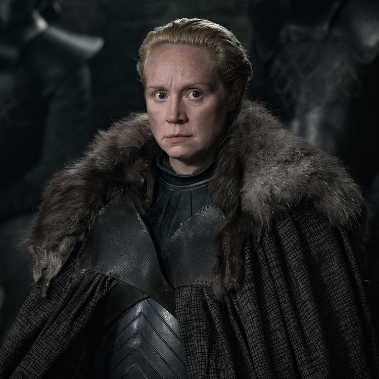 Gwendoline Christie as Brienne of Tarth – Photo: Helen Sloan/HBO
