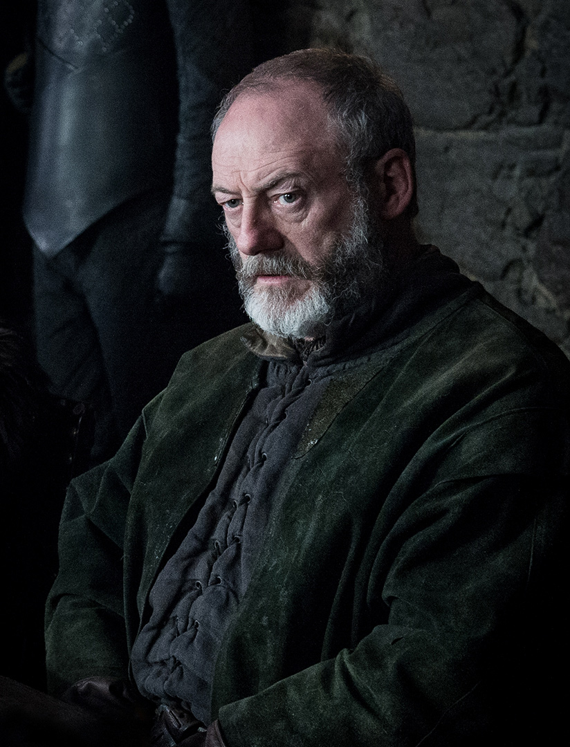 Liam Cunningham as Davos Seaworth – Photo: Helen Sloan/HBO