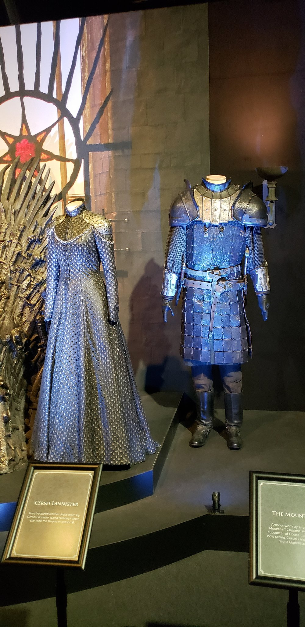 Cersei Lannister's dress inspired by Tywin's