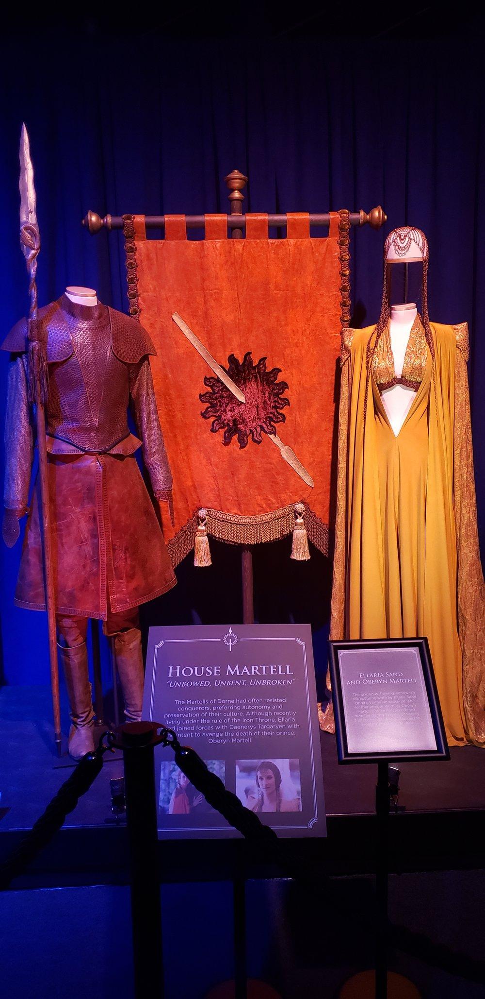 Oberyn Martell and Ellaria Sand's costumes