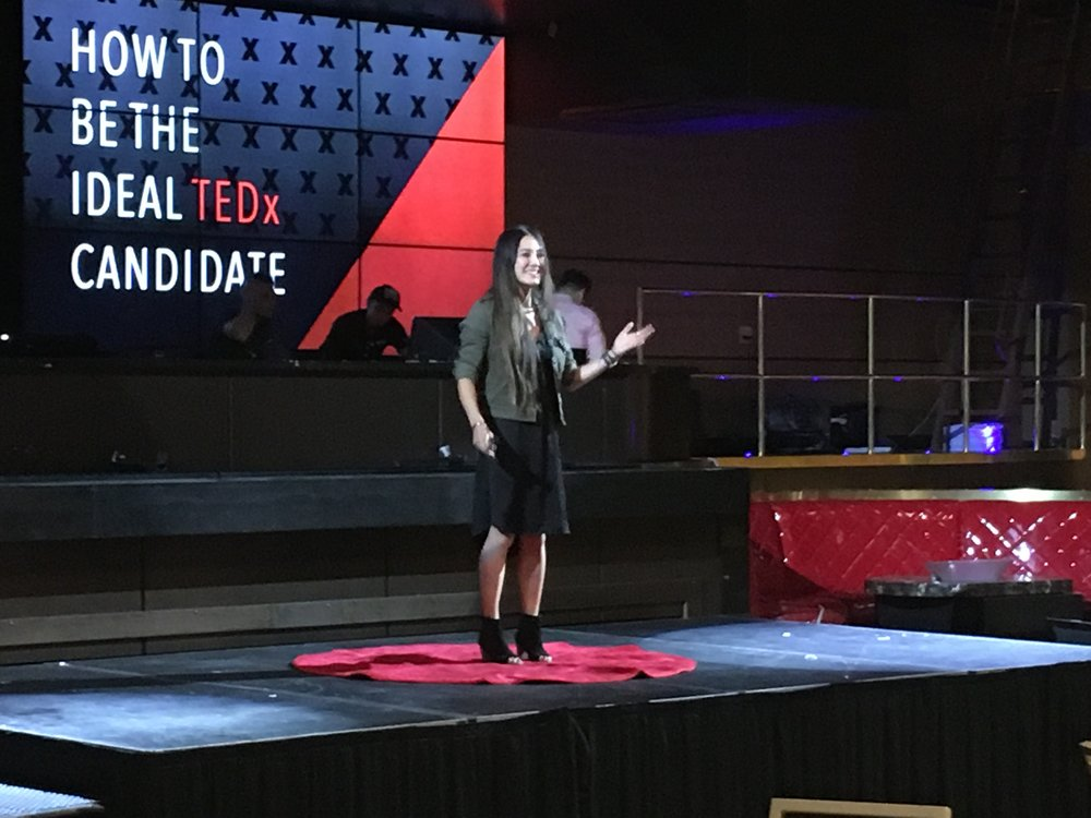 "Talk on ""How to be the Ideal TEDx Candidate"""