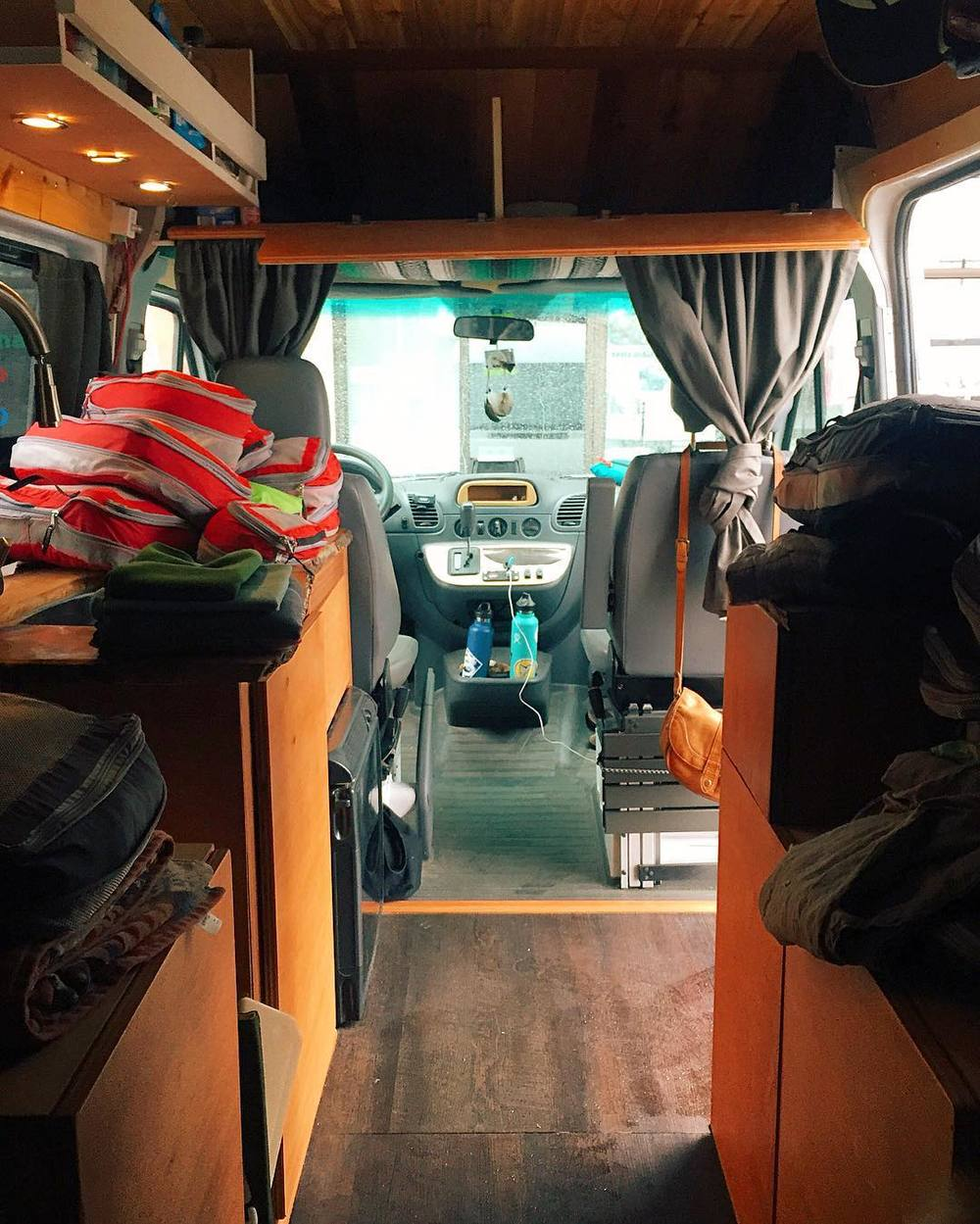 Build: Making the Most of Your Space — HOME SWEET VAN