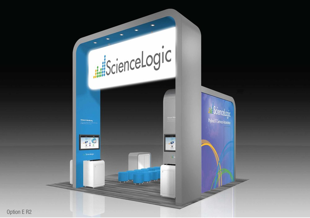 ScienceLogic 20x30 Booth