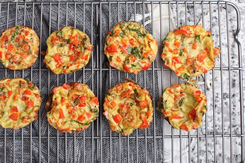 Scrambled Egg Breakfast Muffins - Recipe