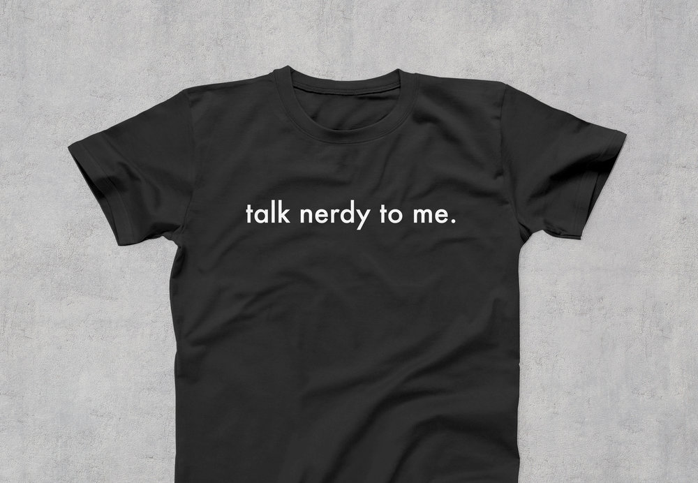 "ScienceLogic ""Talk Nerdy"" T-Shirt"