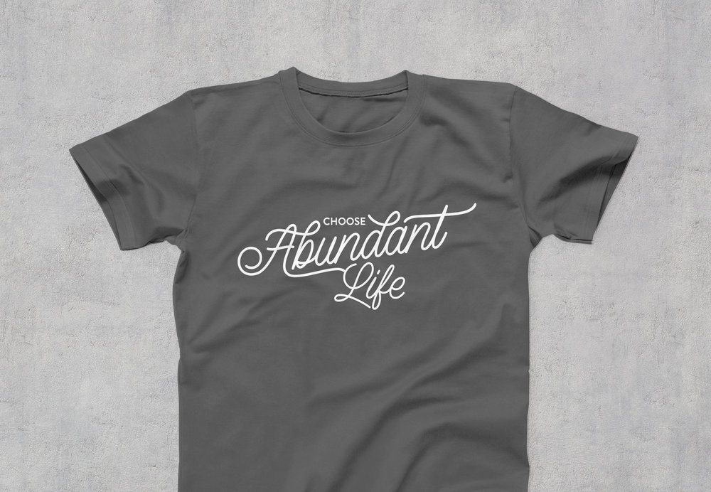 "Care Net ""Abundant"" T-shirt"