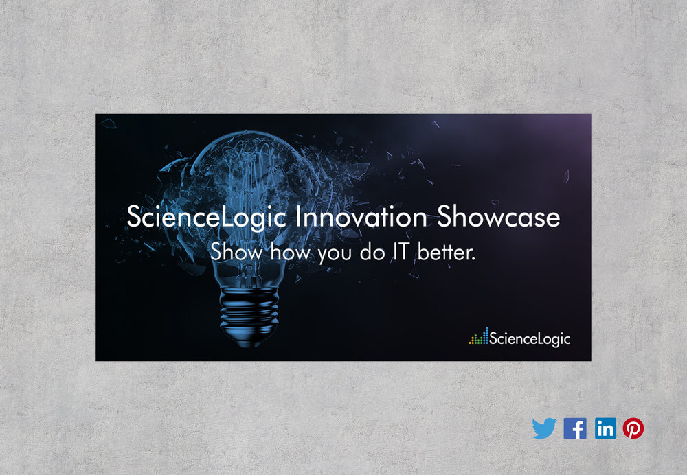ScienceLogic Twitter/LinkedIn