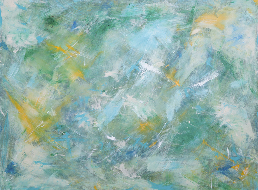 "STAR LIGHT, STAR BRIGHT, 36"" X 48"" - SOLD"