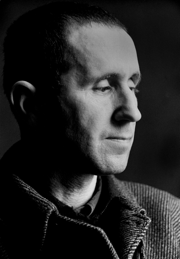 Bertolt Brecht  , Paris 1935. Many of his subjects were emigrants like Stein. He photographed them at official press conferences as well as on private occasions