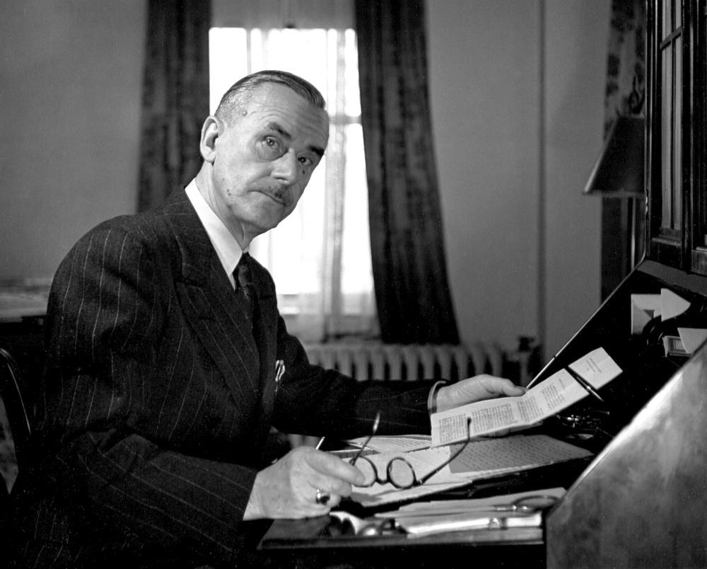 Thomas Mann, 1943