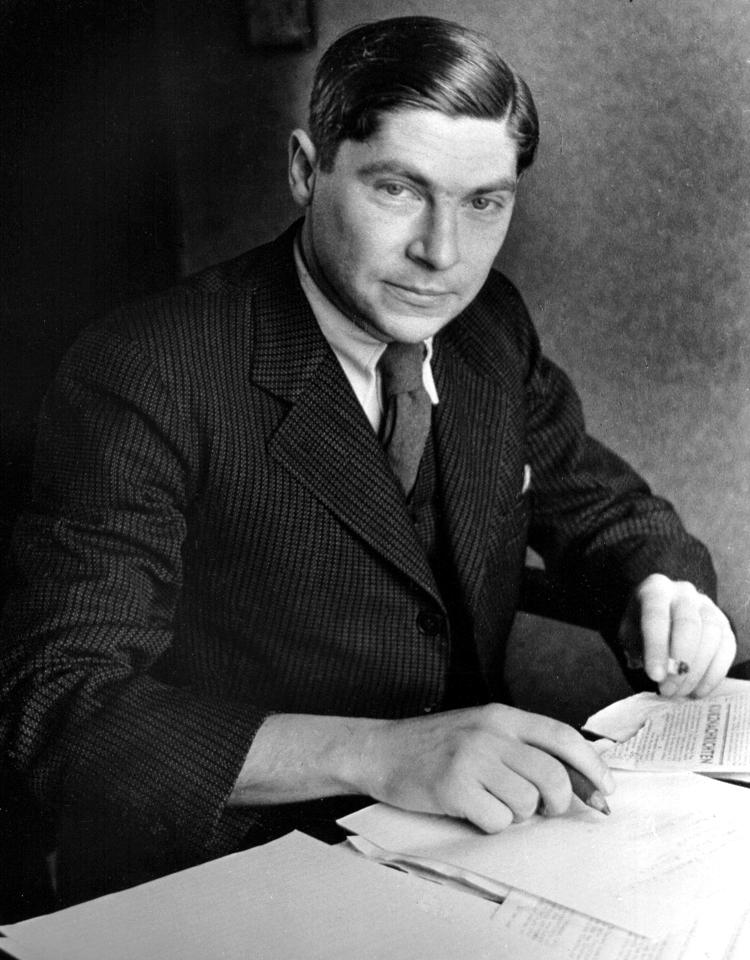 Arthur Koestler, 1937