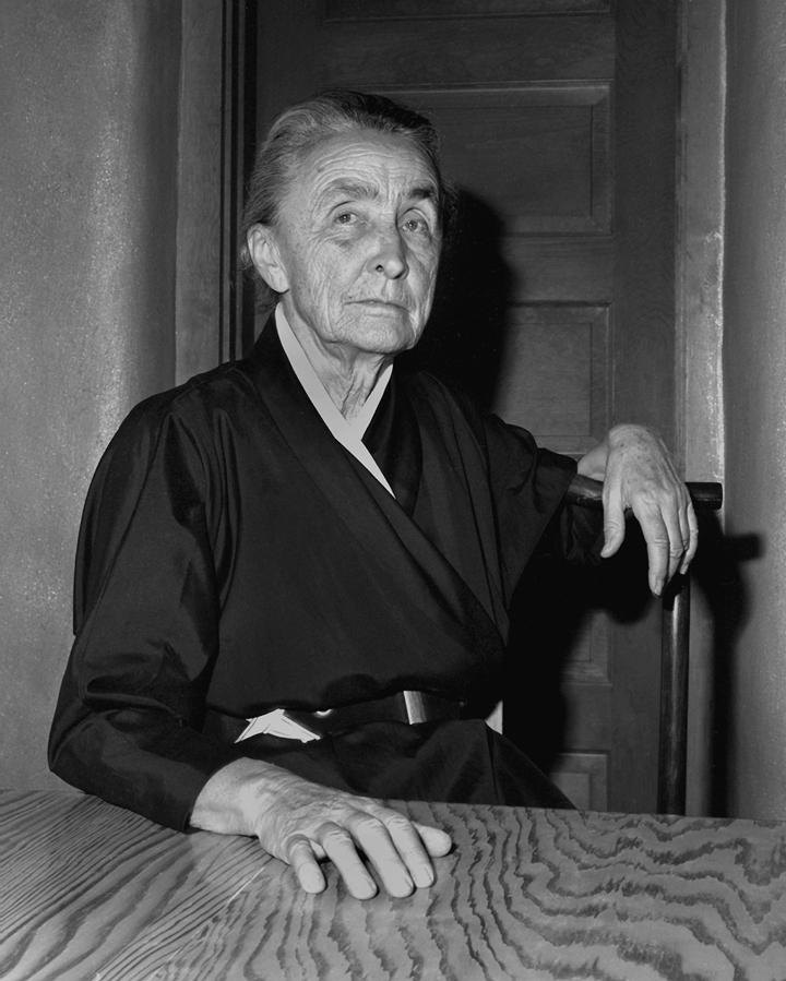 Georgia O'Keeffe, 1962