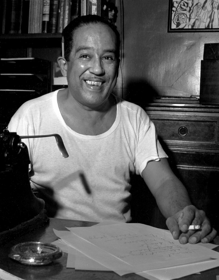 Langston Hughes, 1954