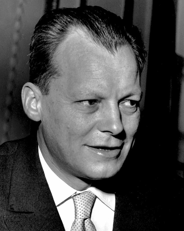 Willy Brandt, 1957