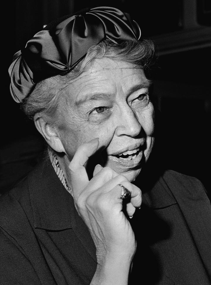Eleanor Roosevelt, 1958