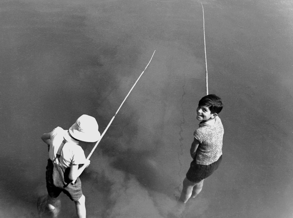 Boys Fishing, 1936