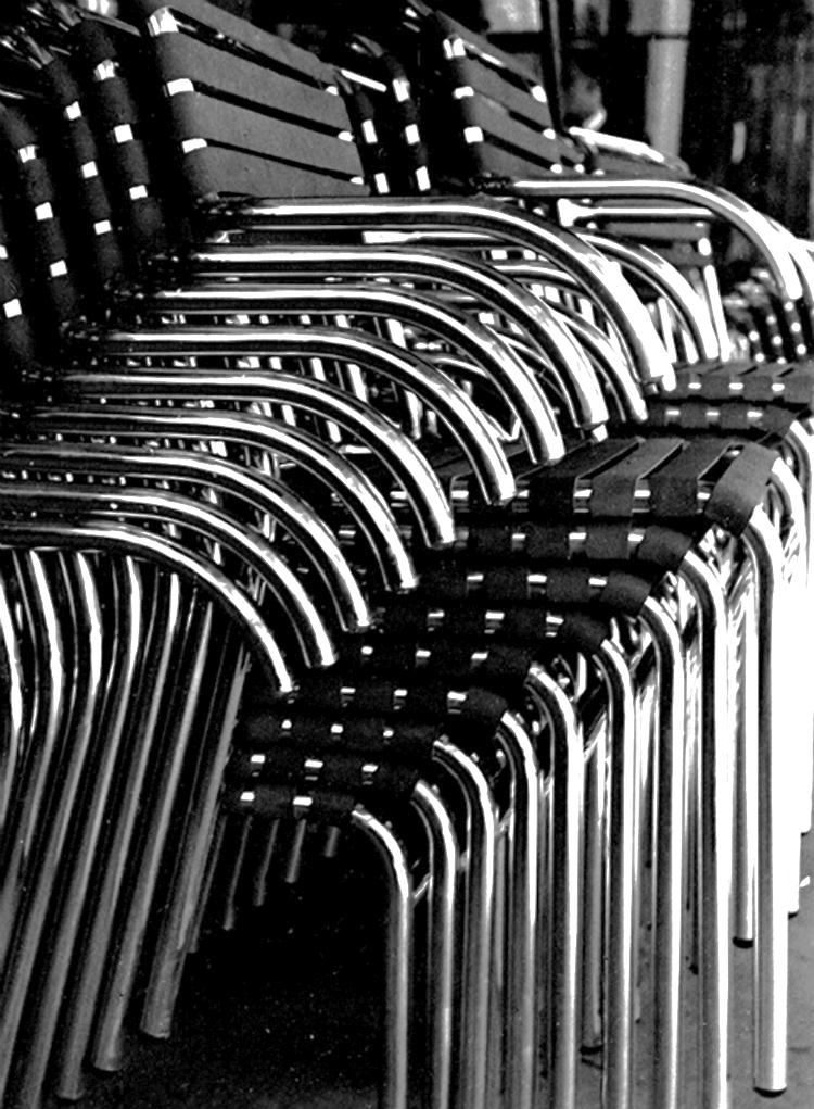 Aluminum Chairs, 1938