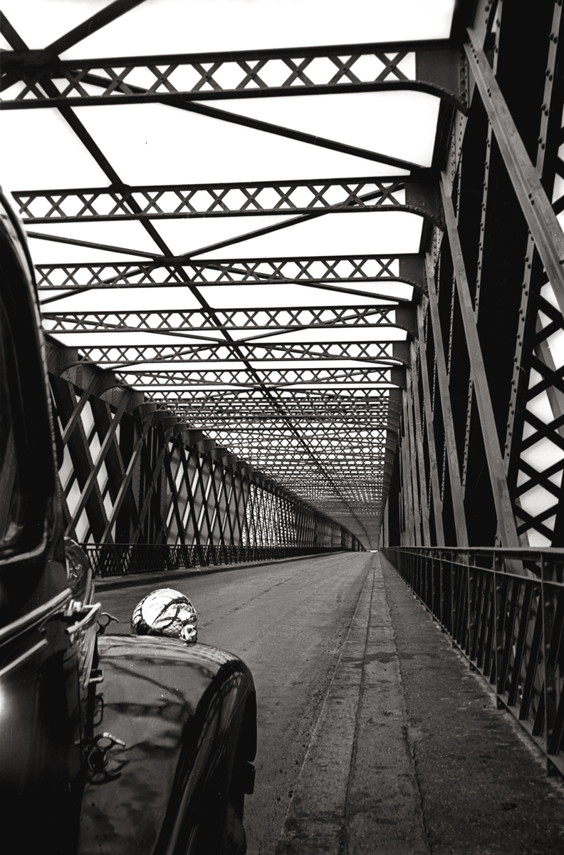 Car on Bridge, 1938