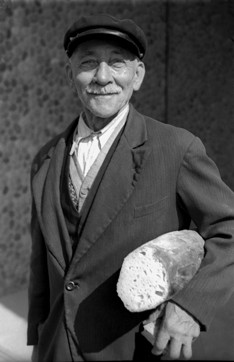 Man with Bread, 1937